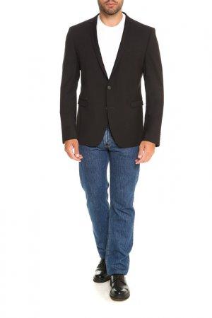 Пиджак Cinque. Цвет: черный, тонкая полоска