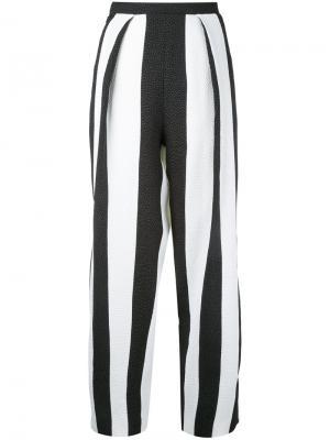 Укороченные брюки в полоску Edeline Lee
