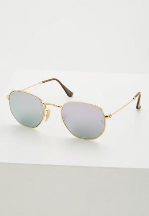 Очки солнцезащитные Ray-Ban® RB3548N 001/8O. Цвет: золотой