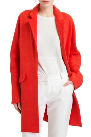 Пальто BGN. Цвет: оранжевый