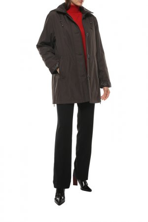 Куртка Collage. Цвет: коричневый