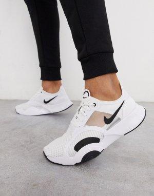 Белые кроссовки SuperRep Go-Белый Nike Training