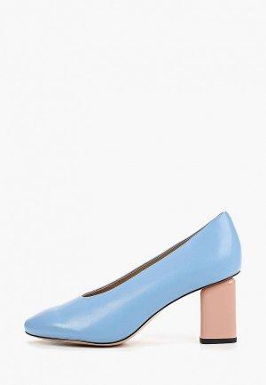 Туфли Antonio Biaggi. Цвет: голубой