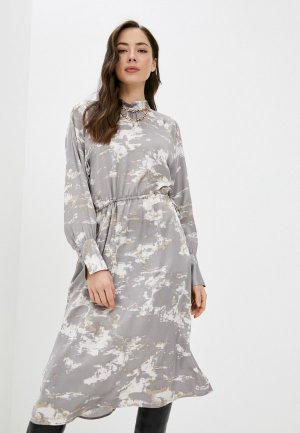 Платье InWear. Цвет: серый