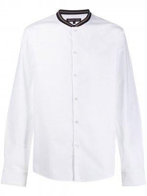 Рубашка с воротником в полоску Michael Kors. Цвет: белый
