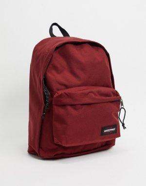 Бордовый рюкзак -Красный Eastpak