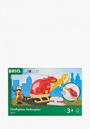 Конструктор Brio Спасательный вертолет. Цвет: разноцветный