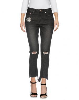 Джинсовые брюки-капри SJYP. Цвет: черный