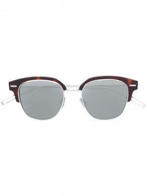 Солнцезащитные очки Tensity Dior Eyewear. Цвет: золотистый