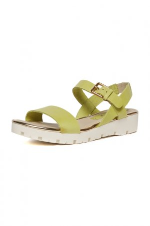 Sandals THE FLEXX. Цвет: green