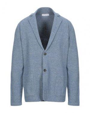 Пиджак FILIPPO DE LAURENTIIS. Цвет: лазурный