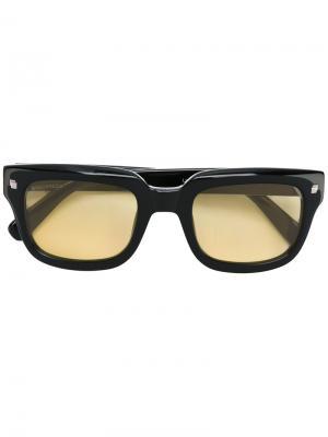 Солнцезащитные очки с квадратной оправой Dsquared2 Eyewear. Цвет: чёрный