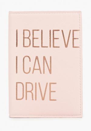 Обложка для паспорта Zarina. Цвет: розовый
