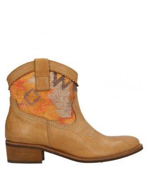 Полусапоги и высокие ботинки BAGATT. Цвет: желто-коричневый
