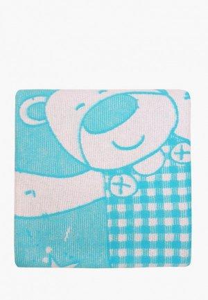 Одеяло детское Arloni 100x140. Цвет: бирюзовый