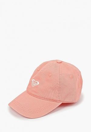 Бейсболка Roxy DEAR BELIEVER. Цвет: розовый