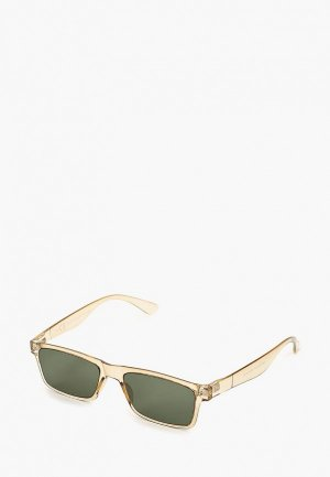 Очки солнцезащитные Topman. Цвет: бежевый
