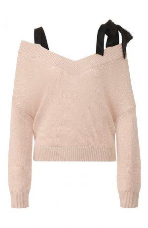 Пуловер REDVALENTINO. Цвет: розовый