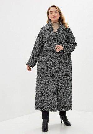 Пальто Kata Binska. Цвет: серый
