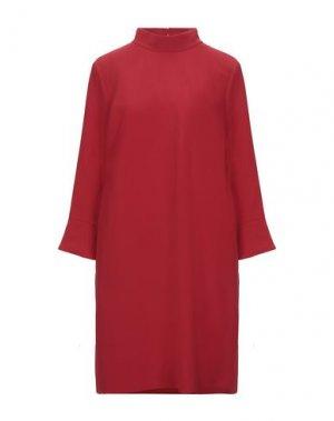 Короткое платье COMPAGNIA ITALIANA. Цвет: красный
