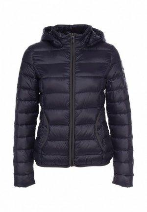Куртка утепленная Comma CO004EWIW089. Цвет: синий