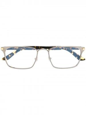 Очки C Decor в прямоугольной оправе Cartier Eyewear. Цвет: черный