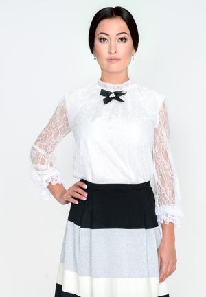 Блуза Лярго. Цвет: белый