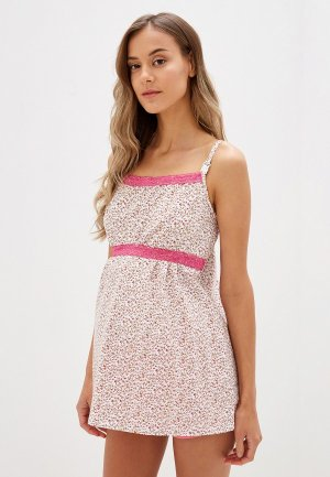 Пижама Nuova Vita 101.06 Mamma dolce с шорт. розовый. 50. Цвет: розовый