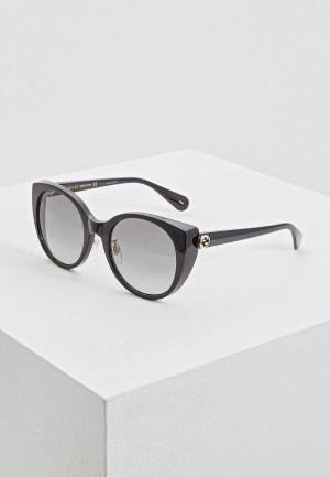 Очки солнцезащитные Gucci GG0369S001. Цвет: черный