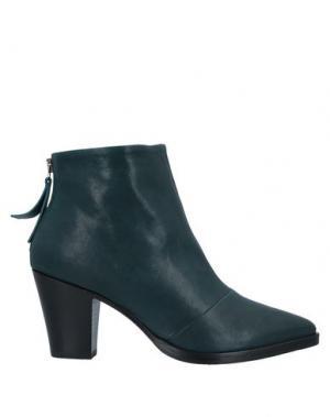 Полусапоги и высокие ботинки ALBERTO FERMANI. Цвет: цвет морской волны