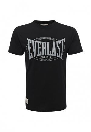 Футболка Everlast Old Authentic. Цвет: черный