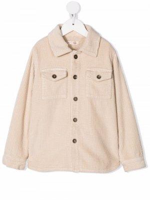 Corduroy long-sleeve shirt Zhoe & Tobiah. Цвет: нейтральные цвета