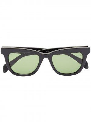 Солнцезащитные очки Viator Roadmaster в квадратной оправе visvim. Цвет: черный