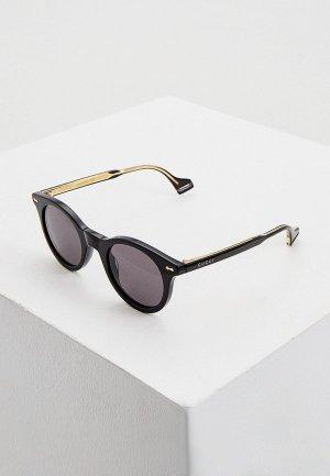 Очки солнцезащитные Gucci GG0736S 001. Цвет: черный