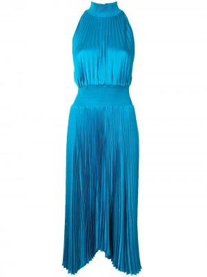 Платье миди без рукавов A.L.C.. Цвет: синий