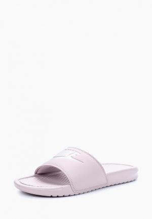 Сланцы Nike WOMENS BENASSI JUST DO IT. SANDAL. Цвет: розовый