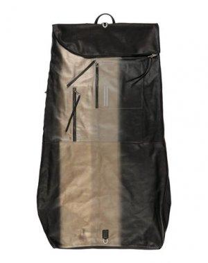 Дорожная сумка RICK OWENS. Цвет: черный