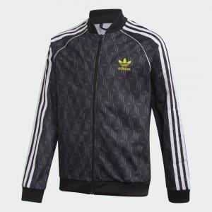 Олимпийка SST Originals adidas. Цвет: черный