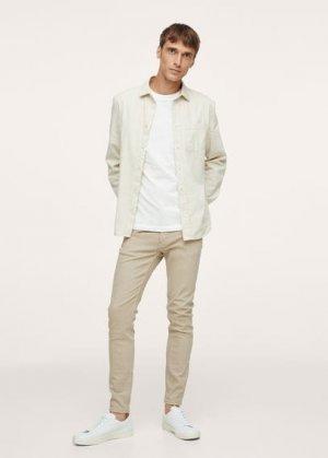 Цветные джинсы скинни - Billy Mango. Цвет: бежевый