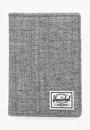 Обложка для документов Herschel Supply Co Raynor Passport Holder RFID. Цвет: серый