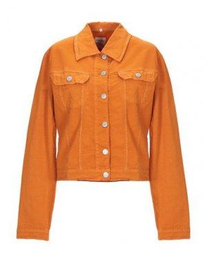 Куртка PIANURASTUDIO. Цвет: оранжевый