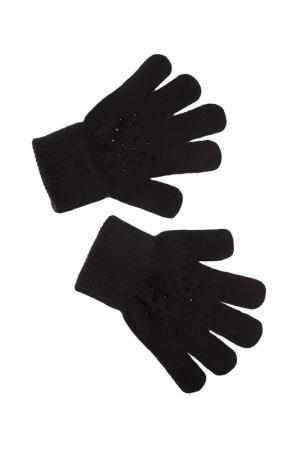 Перчатки PlayToday. Цвет: черный
