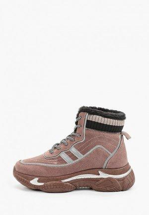 Ботинки Trien. Цвет: бежевый