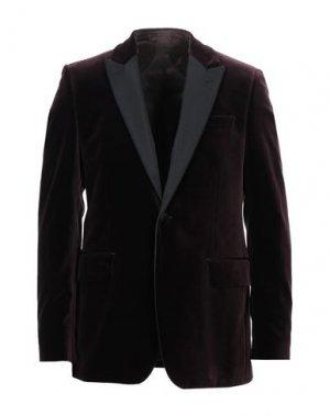 Пиджак FAÇONNABLE. Цвет: баклажанный