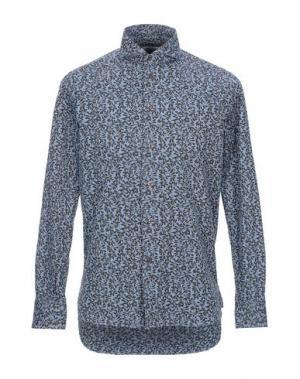 Pубашка BRANCACCIO. Цвет: лазурный