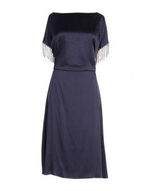 Длинное платье CHRISTOPHER KANE. Цвет: фиолетовый