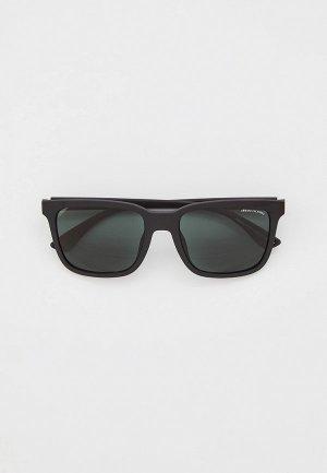 Очки солнцезащитные Armani Exchange AX4112SU 807871. Цвет: черный