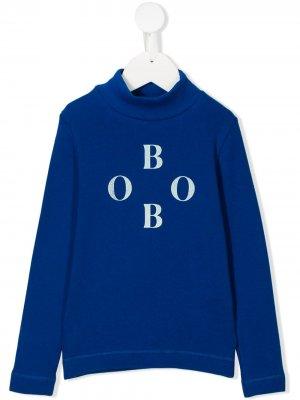 Футболка с логотипом Bobo Choses. Цвет: синий