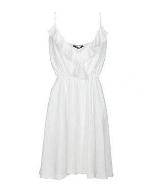 Платье миди FORNARINA. Цвет: белый