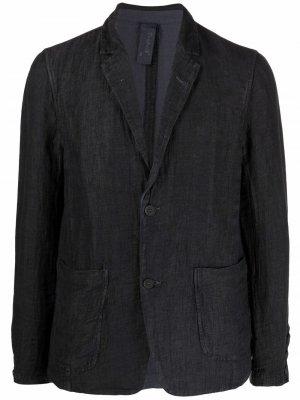 Однобортный пиджак Transit. Цвет: синий